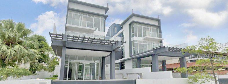 paris ris bungalow facade