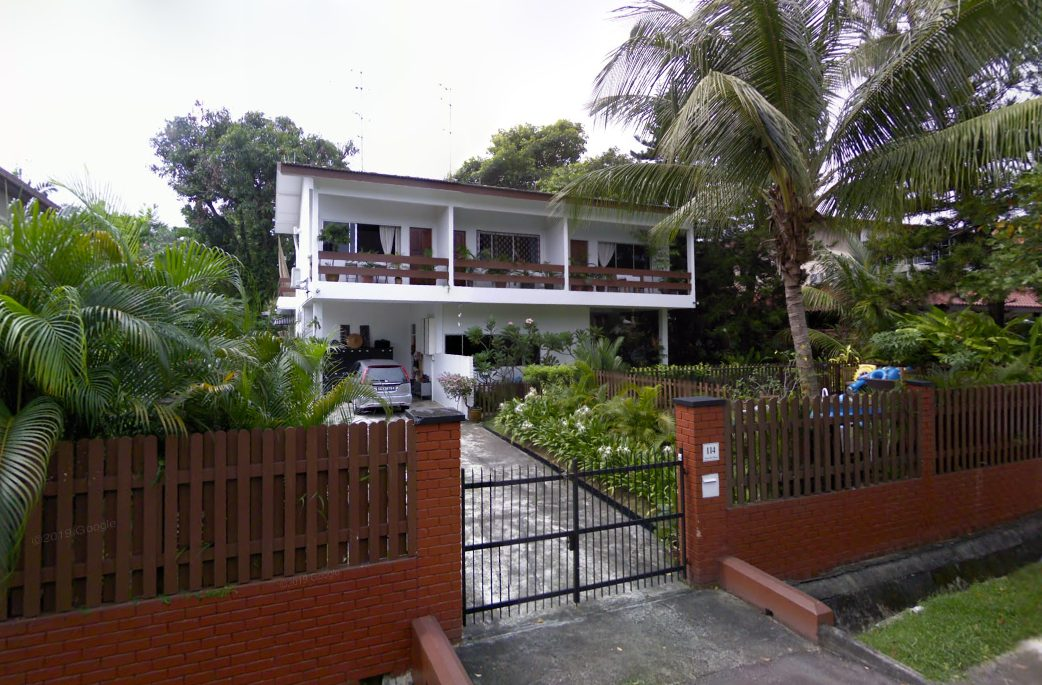 pasir ris bungalow old