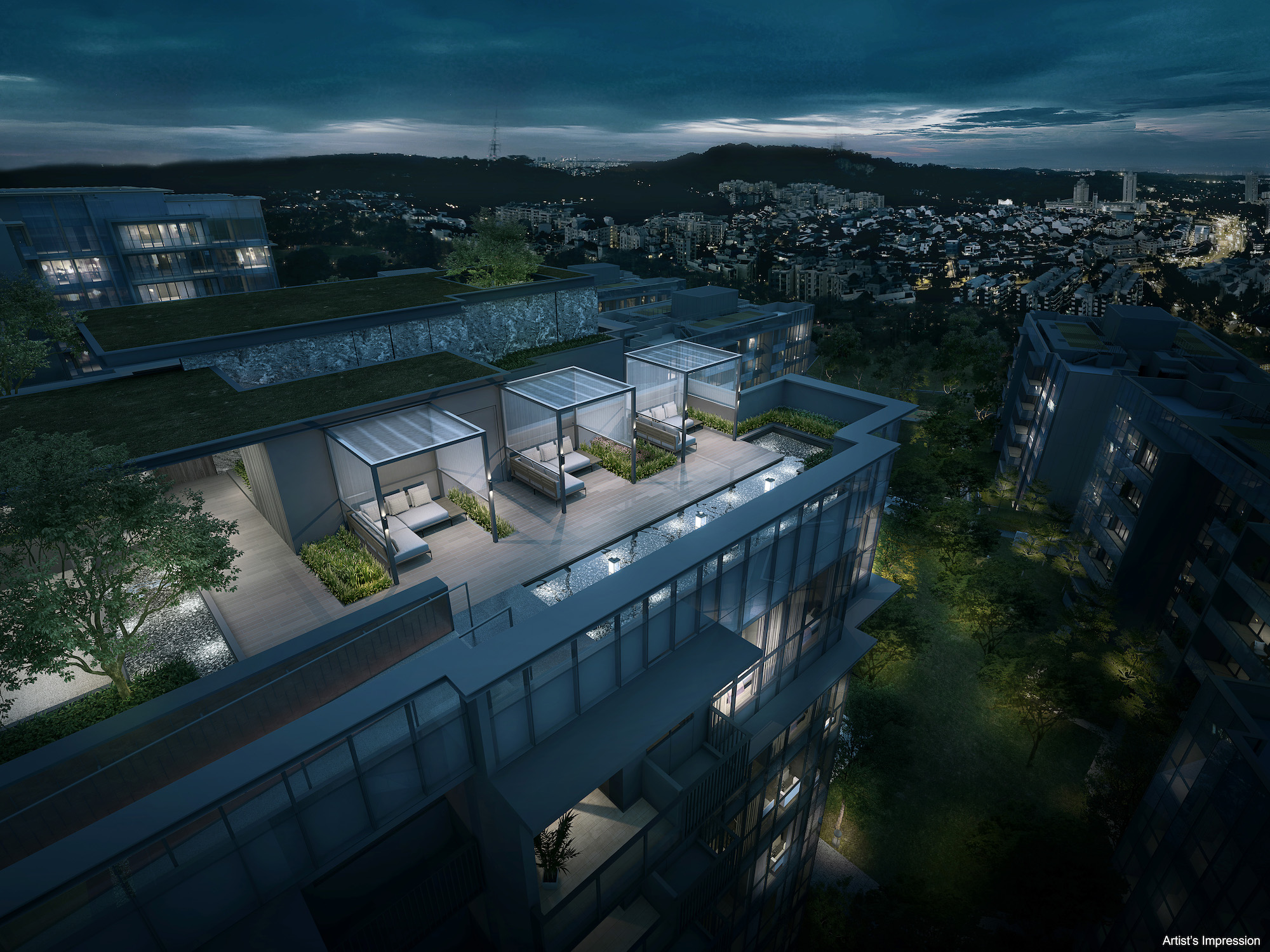 Thoughtfully curated freehold living at Forett at Bukit Timah