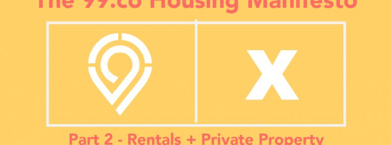 99 housing manifesto rental private property