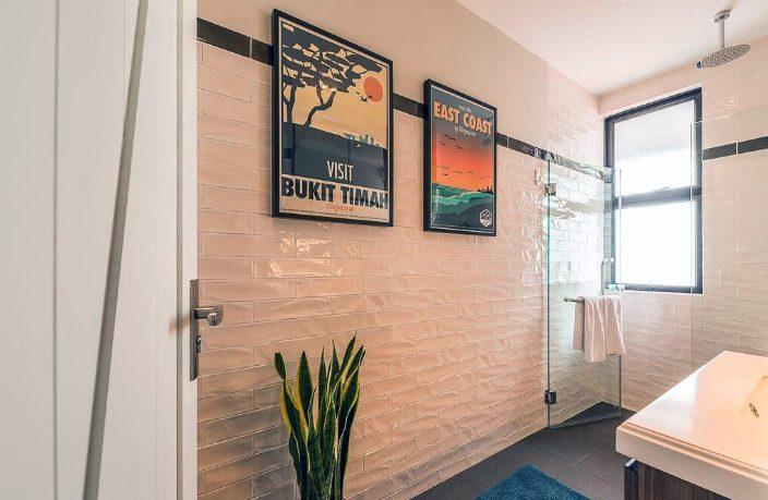 bathroom interior design posters Singapore