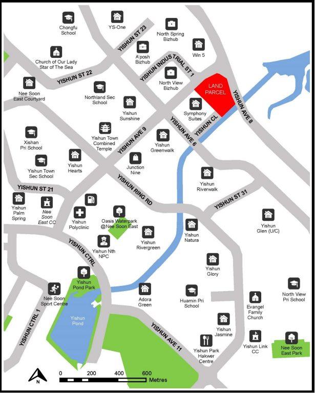 property news yishun avenue 9 executive condominium ec map