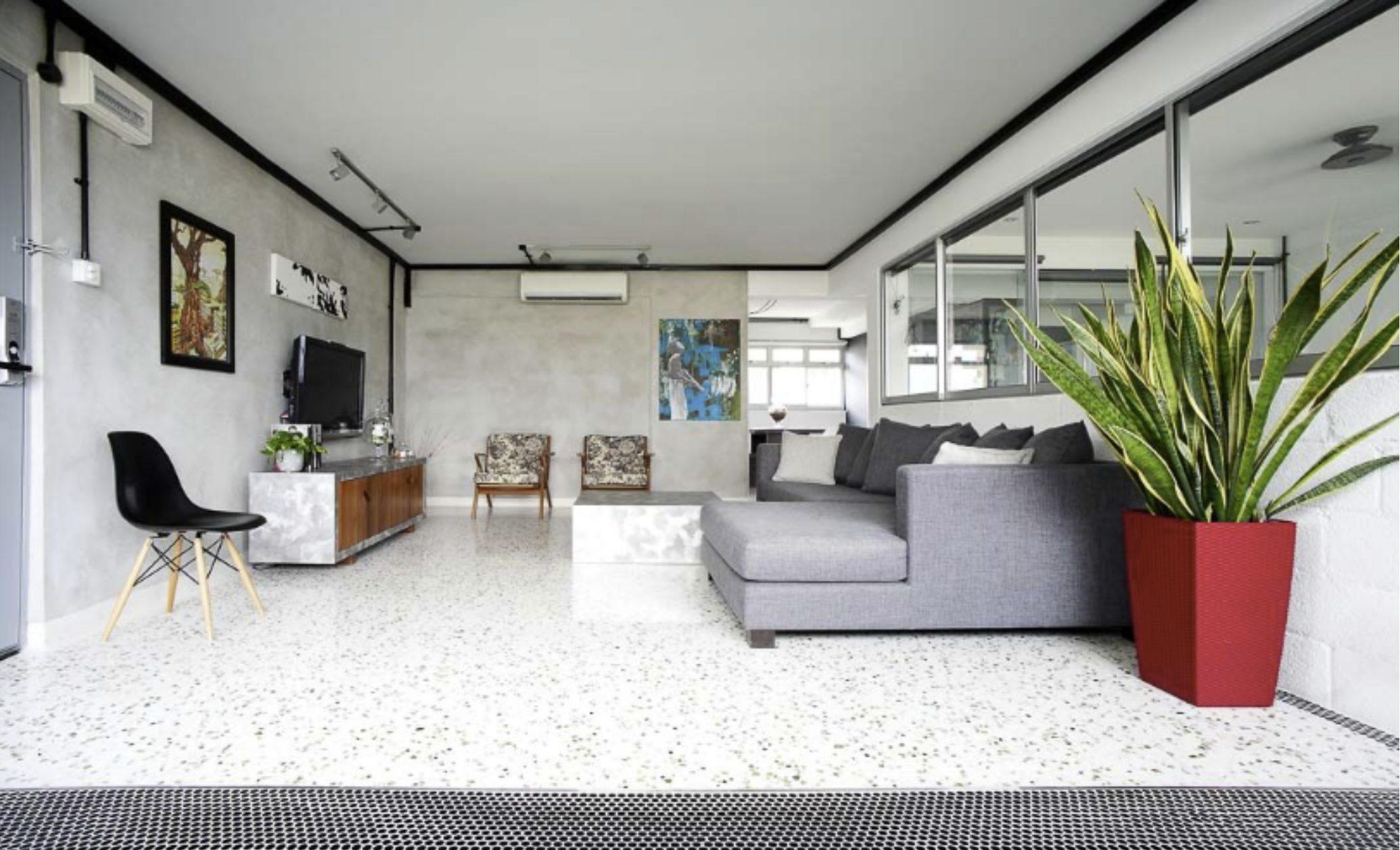 red vase accent colour interior design tips
