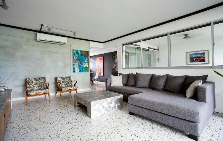 terrazo flooring interior design