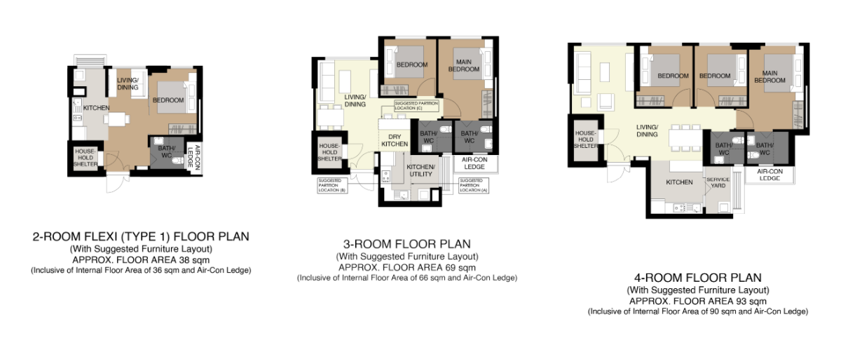 aug 2020 bto floor plan bishan towers