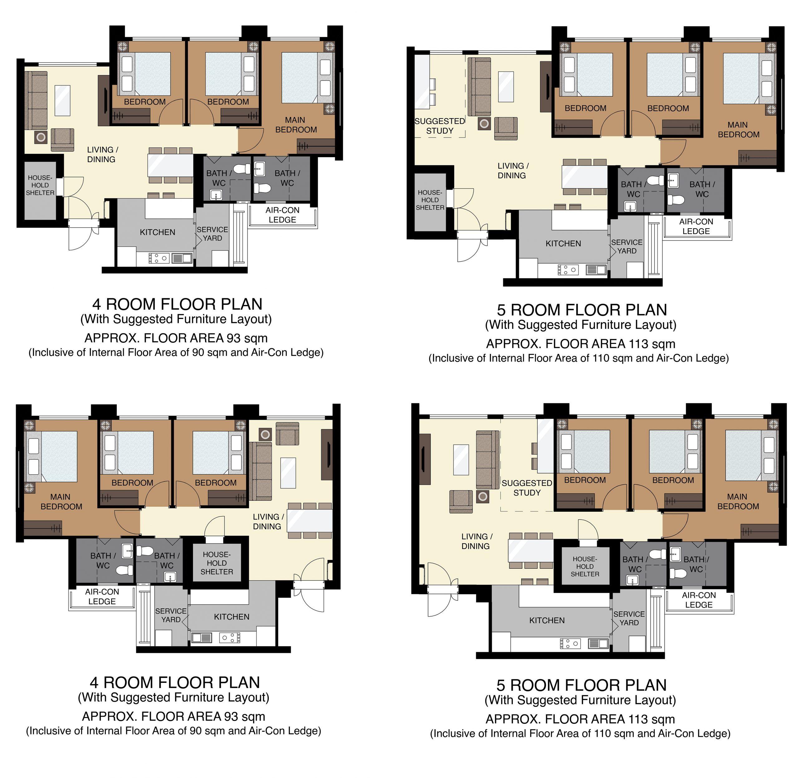 floor plan aug 2020 ang mo kio hdb bto kebun baru edge