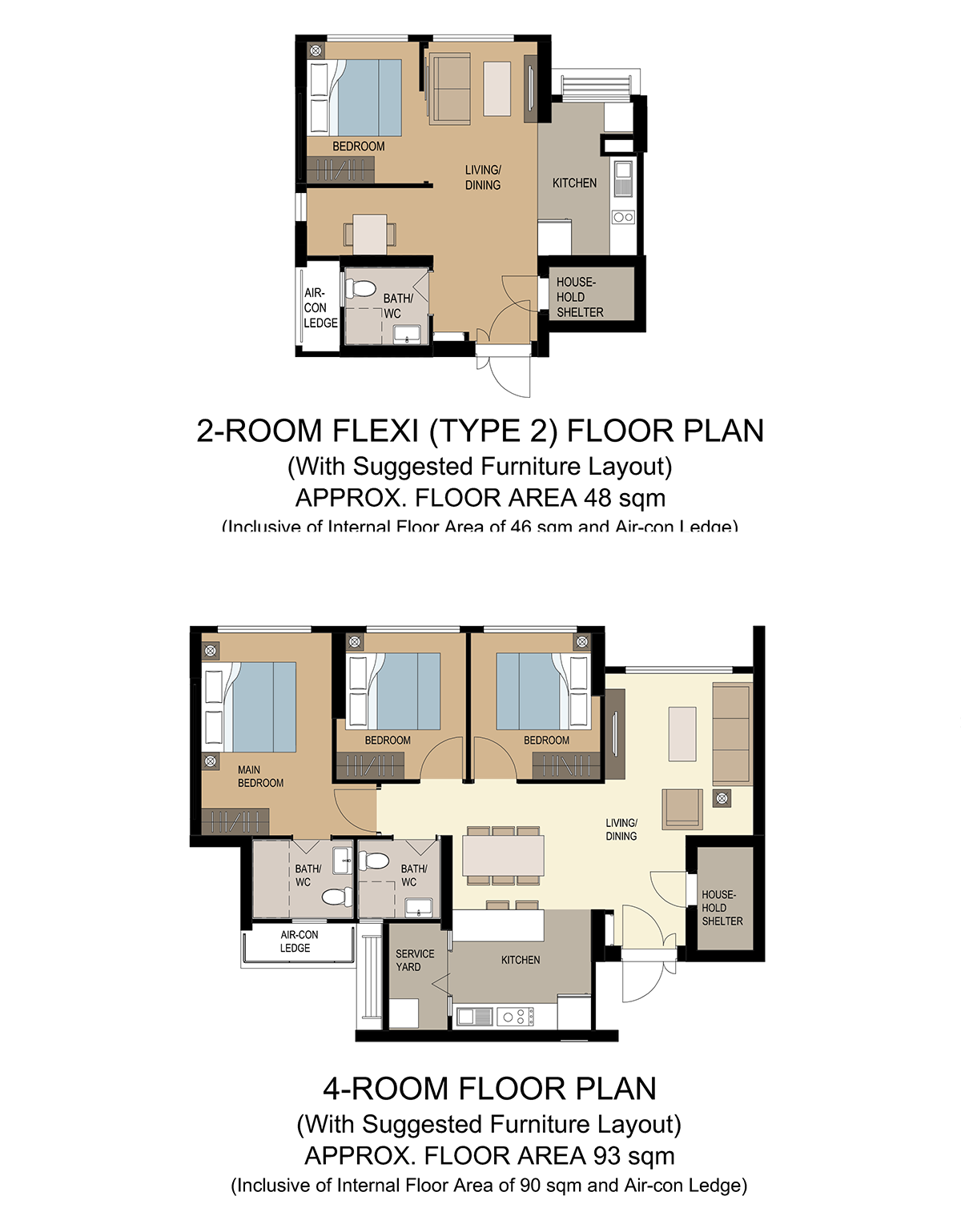 floor plan aug 2020 hdb bto champions bliss woodlands