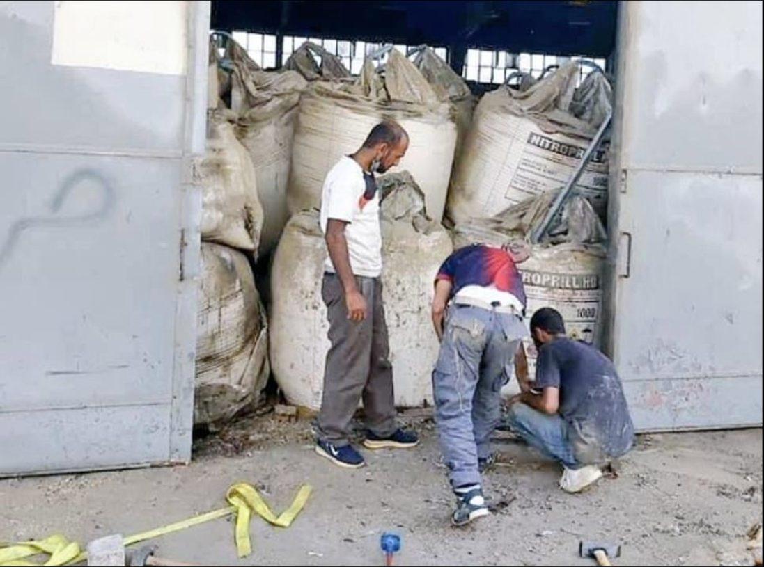 lebanon beirut explosion disaster storage