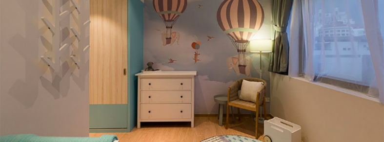 safe nursery interior design