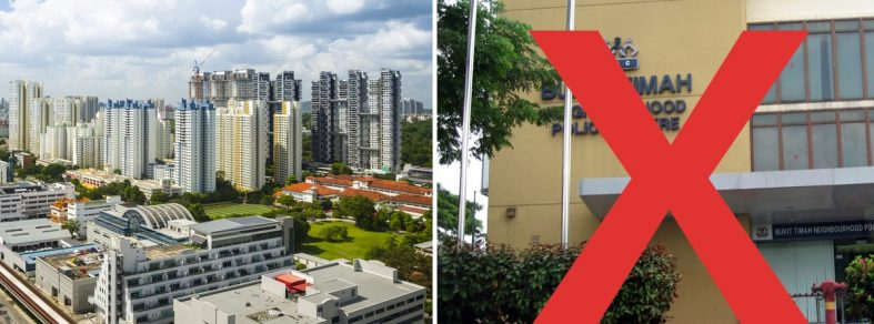 changing residential address singapore