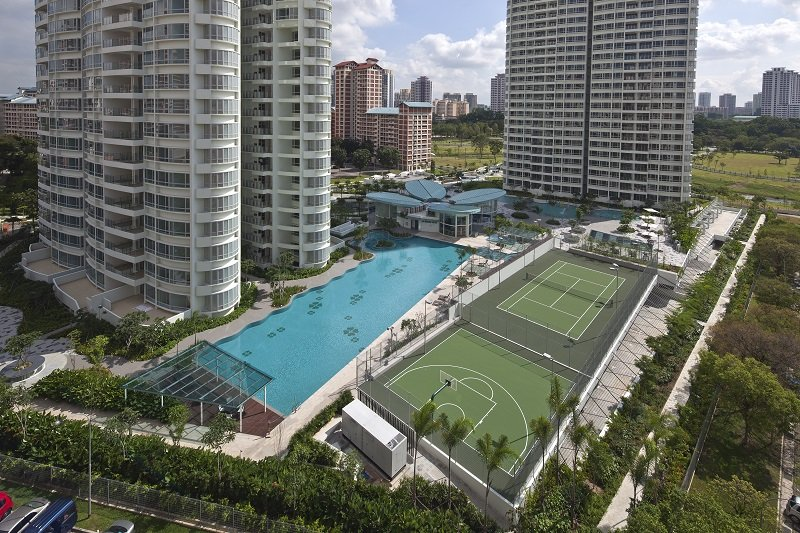 clover by the park condo pool view bishan hdb flat