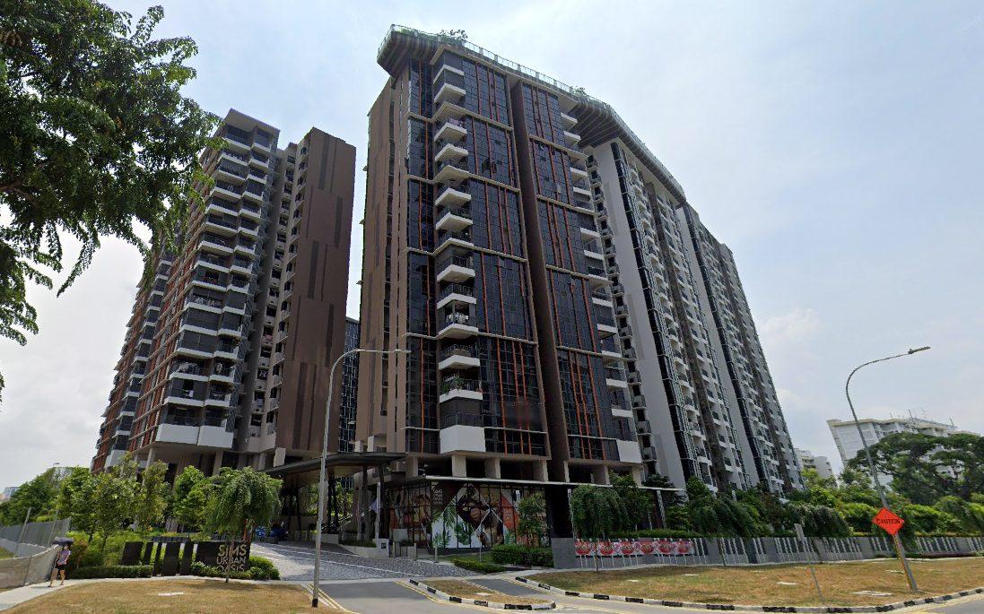 sims urban oasis condo facade