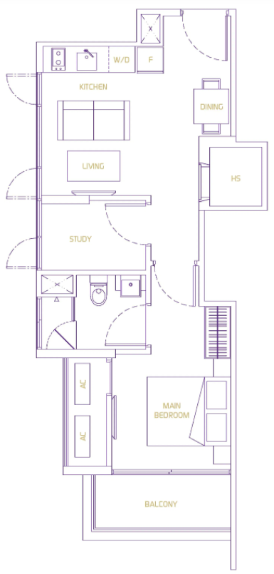va residences floor plan