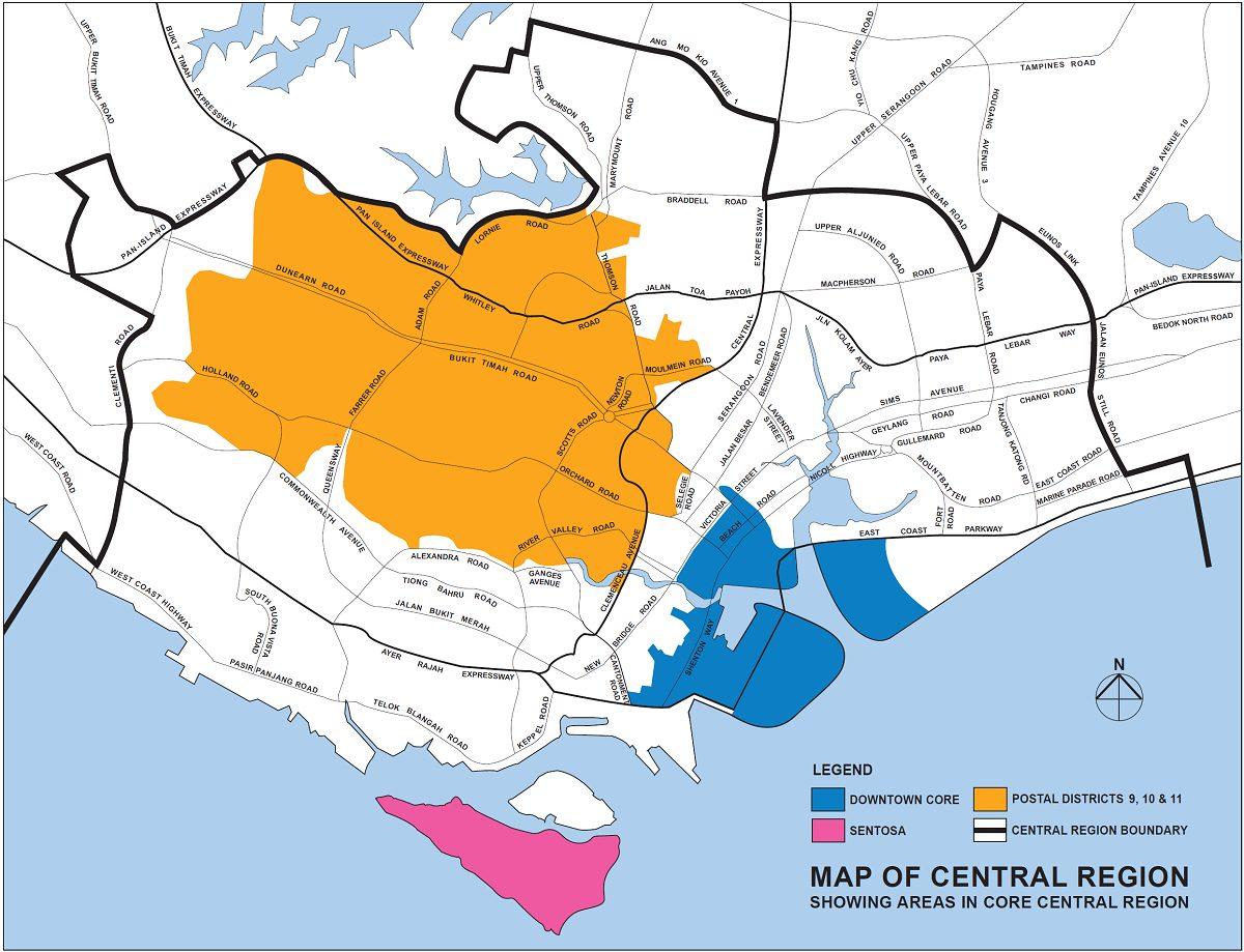 core central region ccr