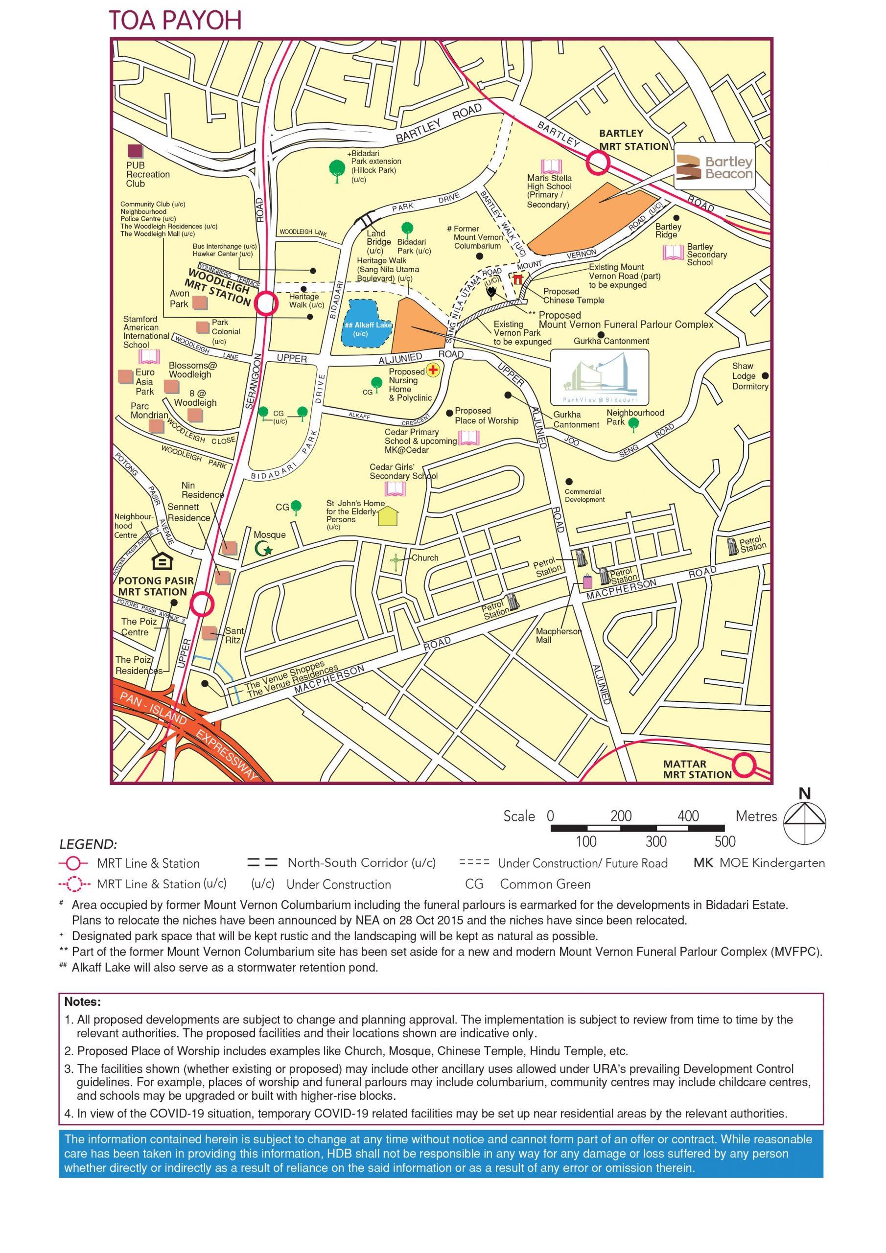 hdb nov 2020 bartley beacon parkview bidadari bto map toa payoh
