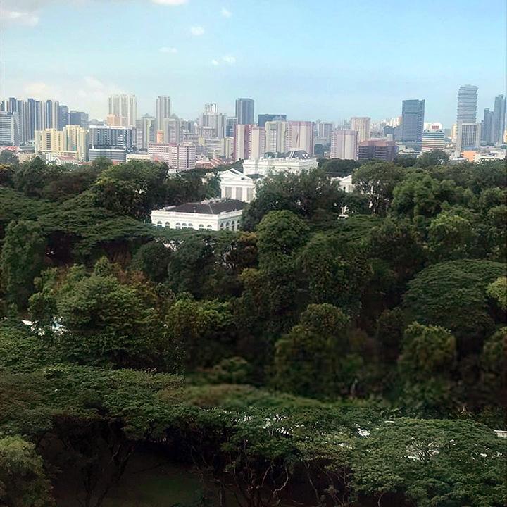 istana view from alba condo