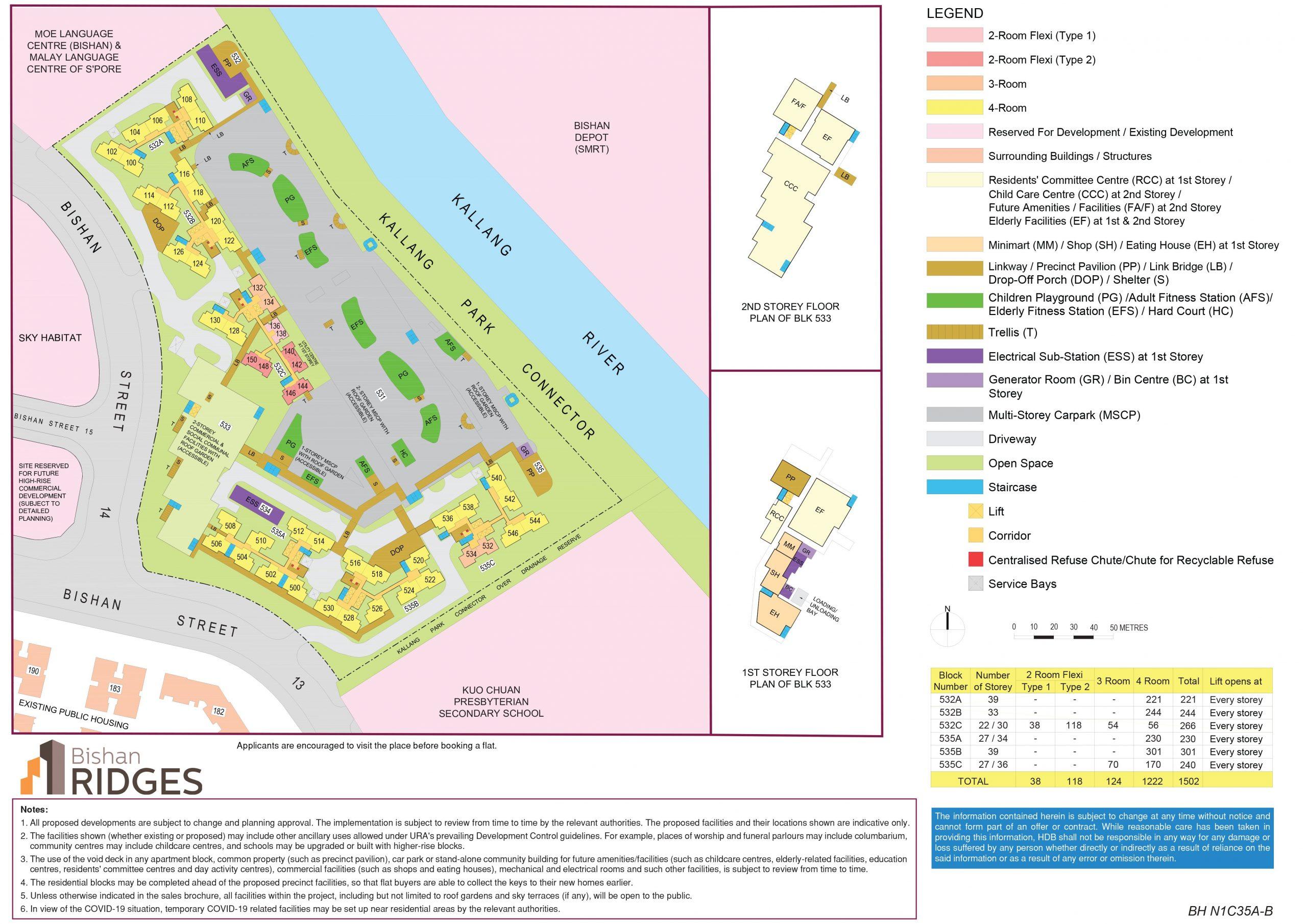bishan ridges bto site plan