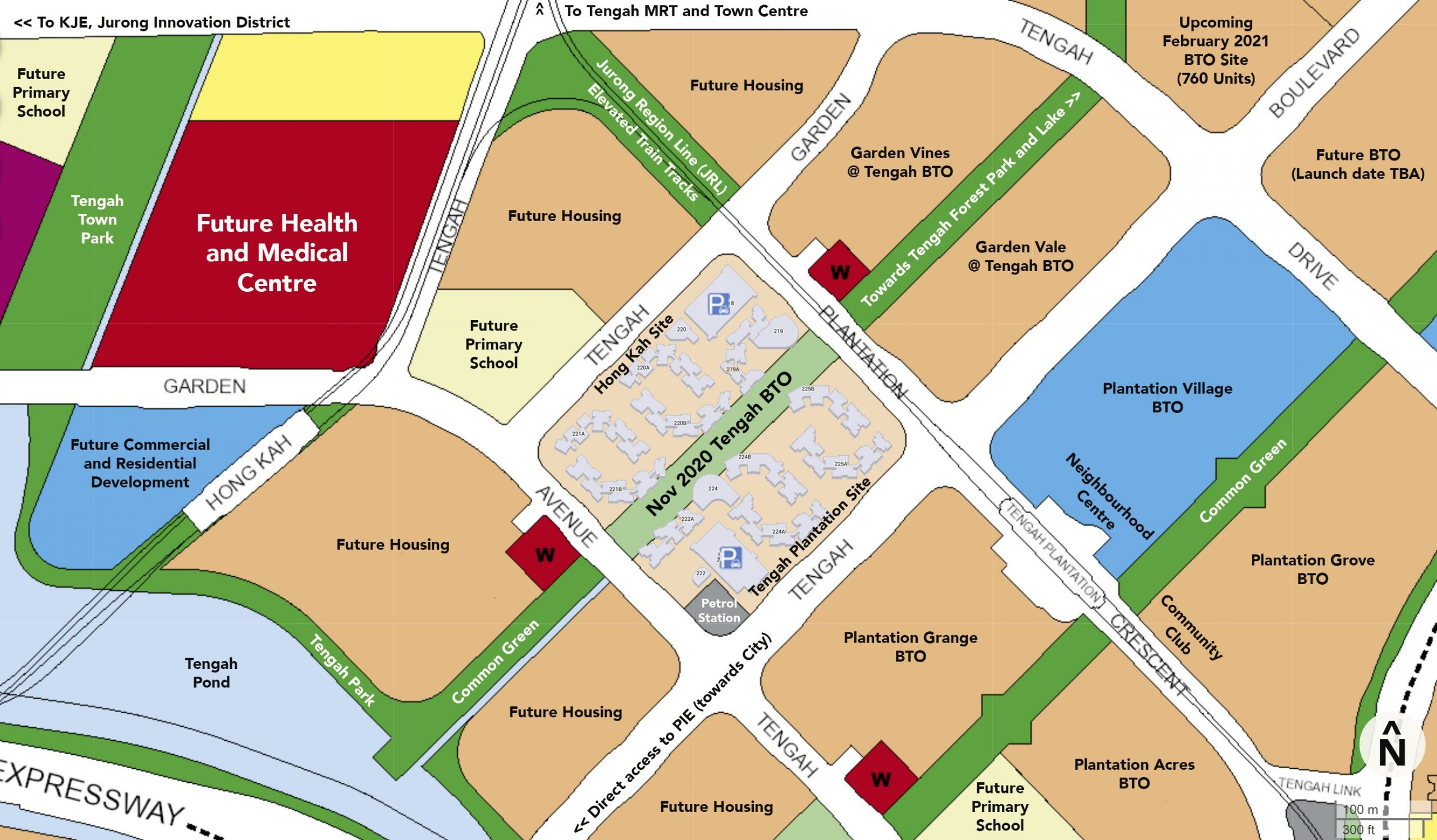 hdb nov 2020 tengah bto ura master plan map