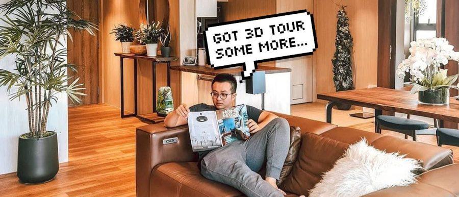 noc ryan tan living room condo bachelor pad interior design
