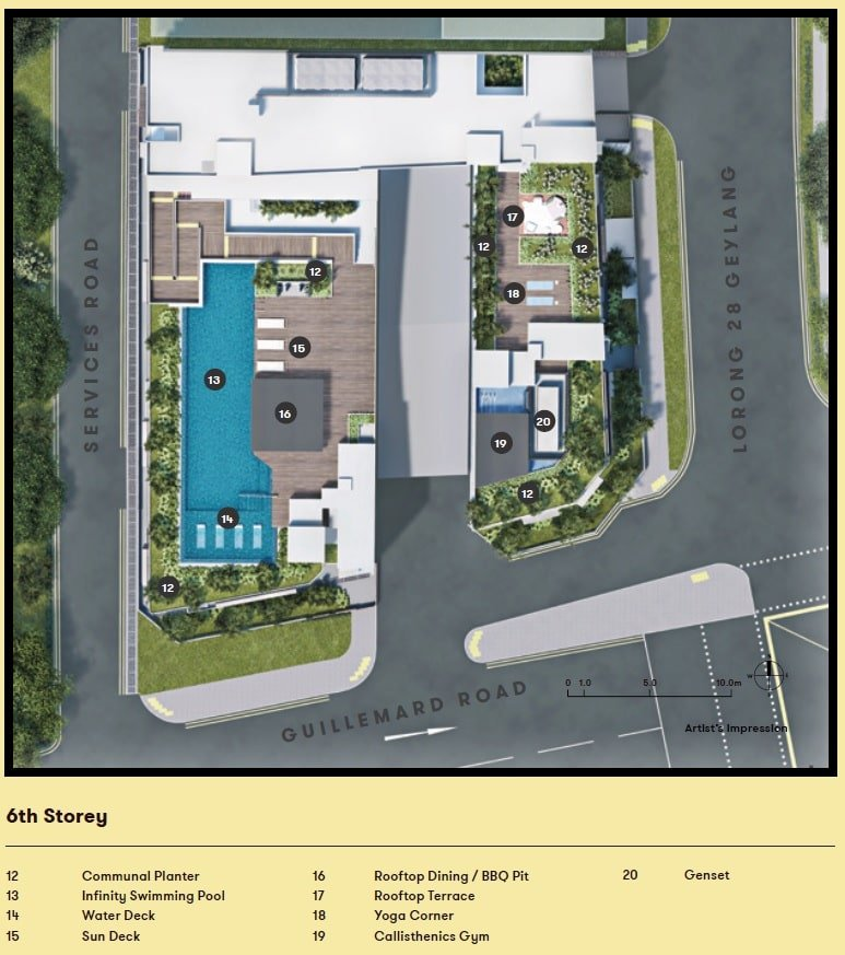 noma condo site plan facilities