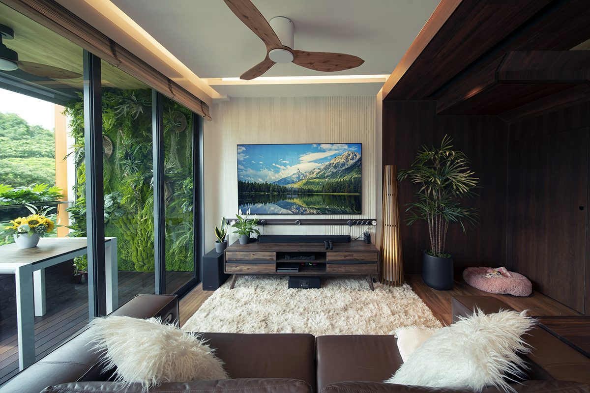 ryan noc condo interior design living room tv