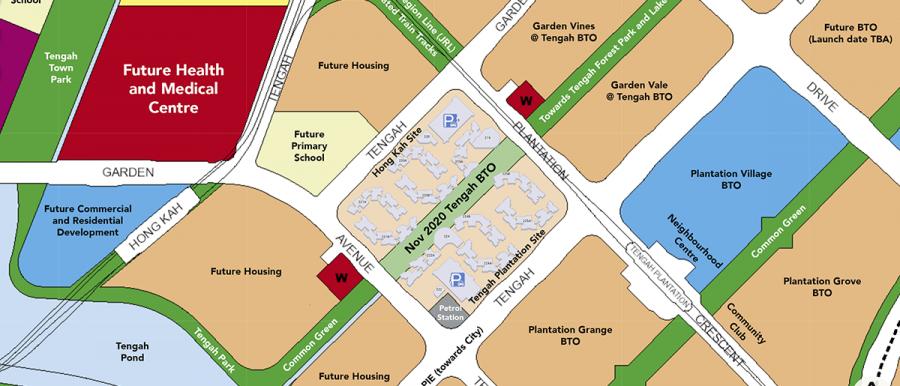 tengah bto ura master plan map fb