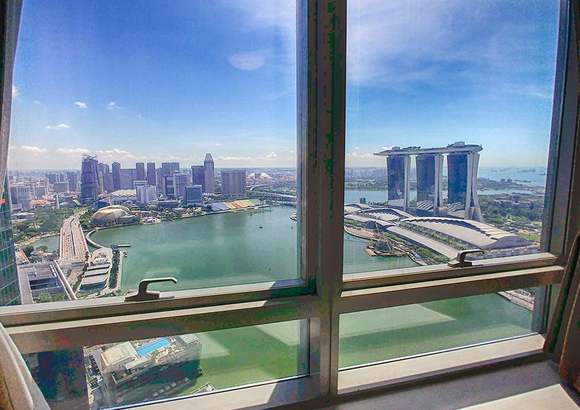 the sail marina bay condo view