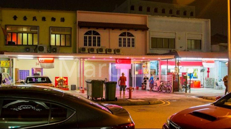 Geylang brothel red light district