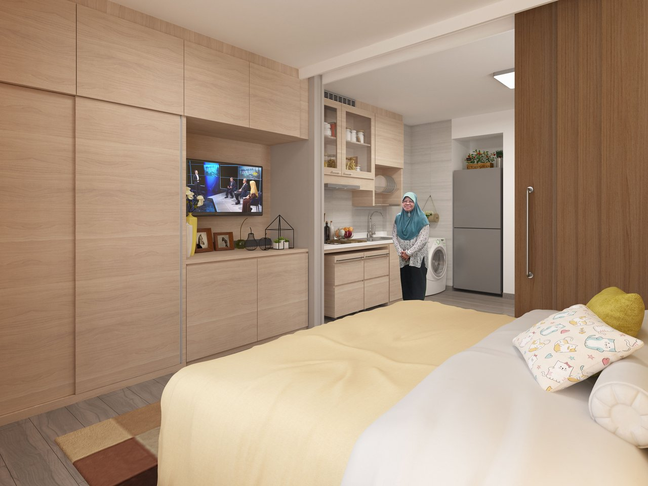 hdb community care apartment interior