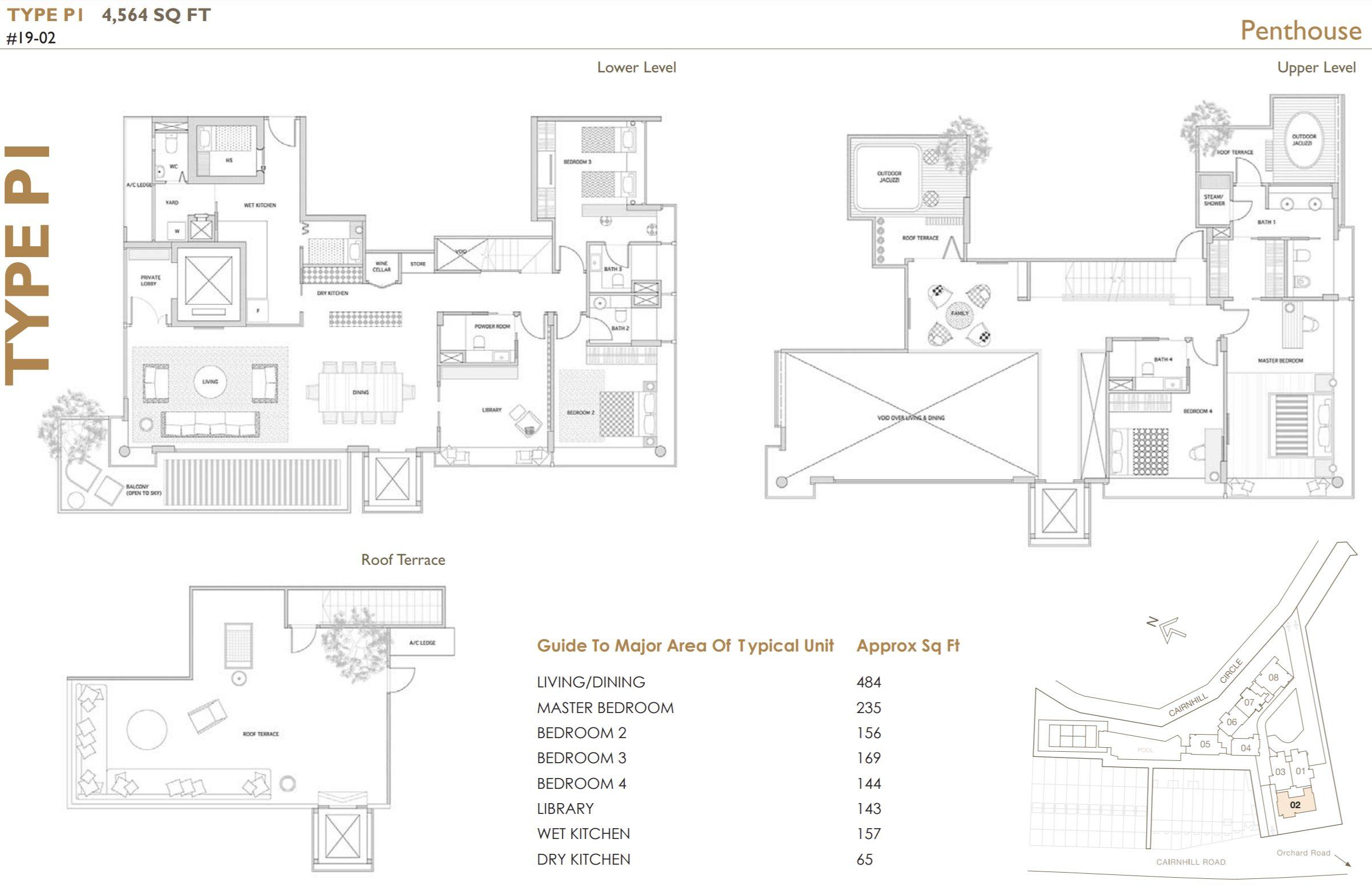 helios residences penthouse fire sale floor plan