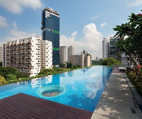 helios residences swimming pool