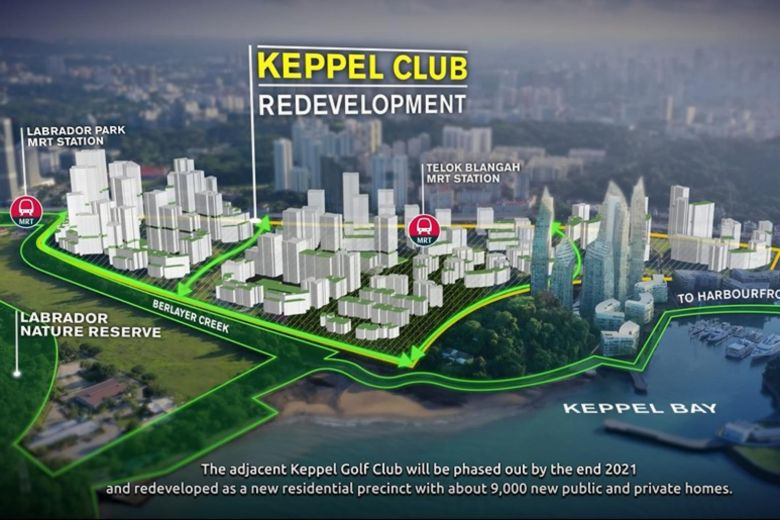 keppel greater southern waterfront bto flats