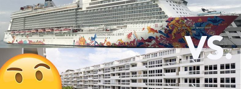 renting a condo holiday cruise to nowhere