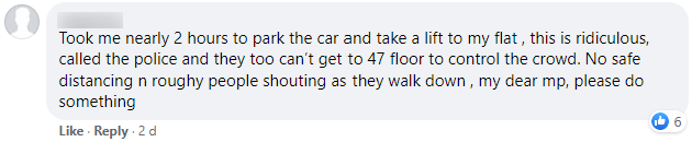 dawson facebook comment