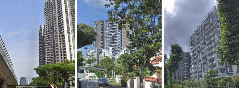 flood prone areas housing estate singapore