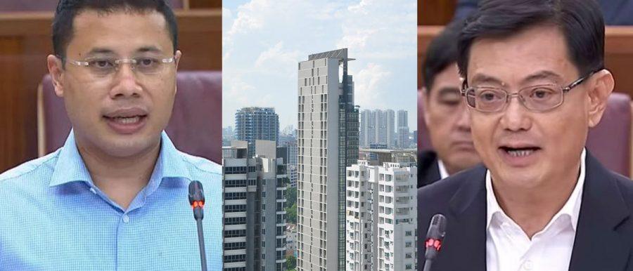 minister property market cooling measures