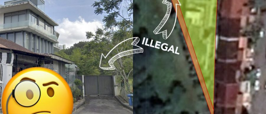 state land couple illegal landed property