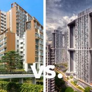 what is non mature estates mature estates hdb