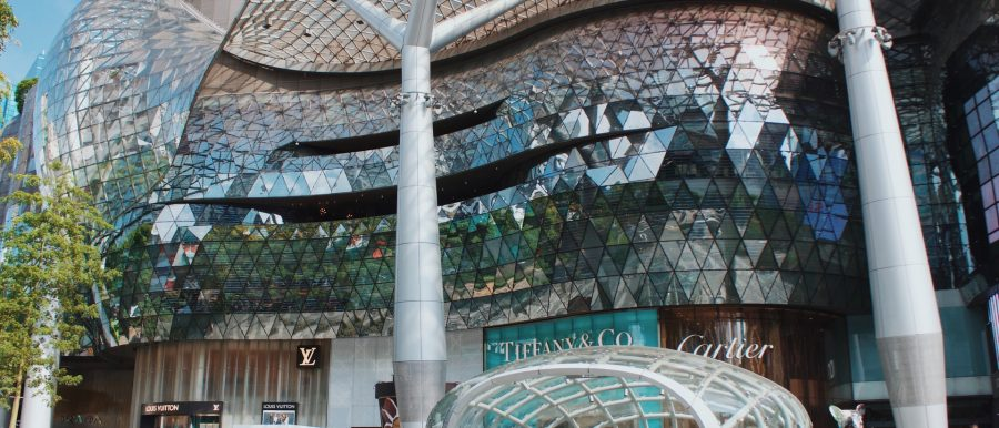 Ion Orchard, a shopping mall that's near the Thomson-East Coast Line