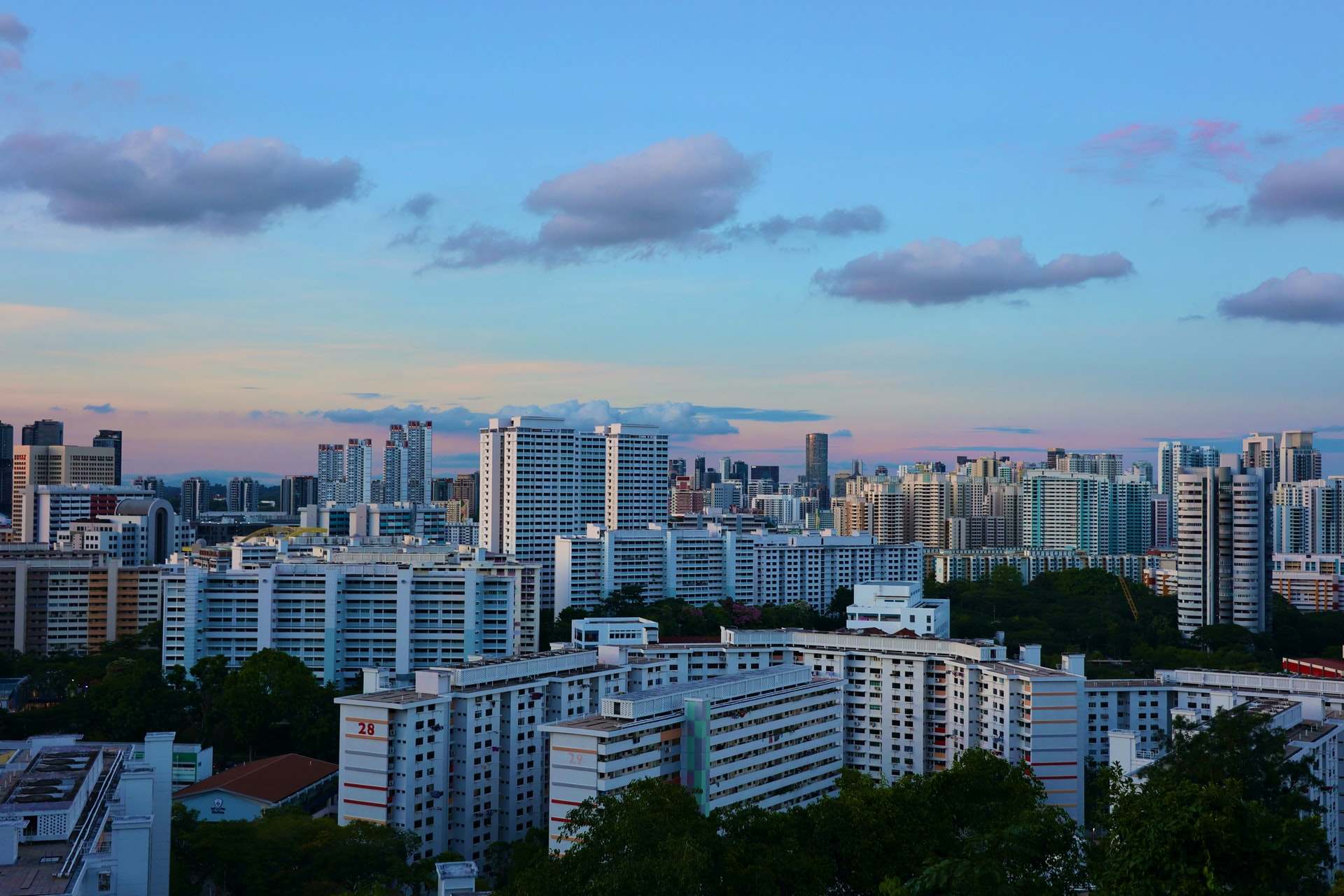 HDB and condos in Singapore