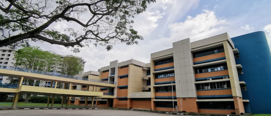 Former Moulmein Primary School at Jalan Rajah
