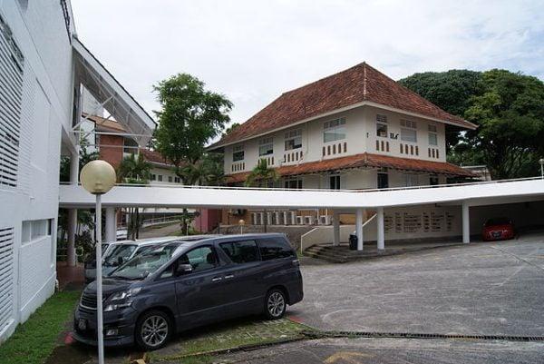 Olson Building of the former Methodist Girls' School at Mount Sophia