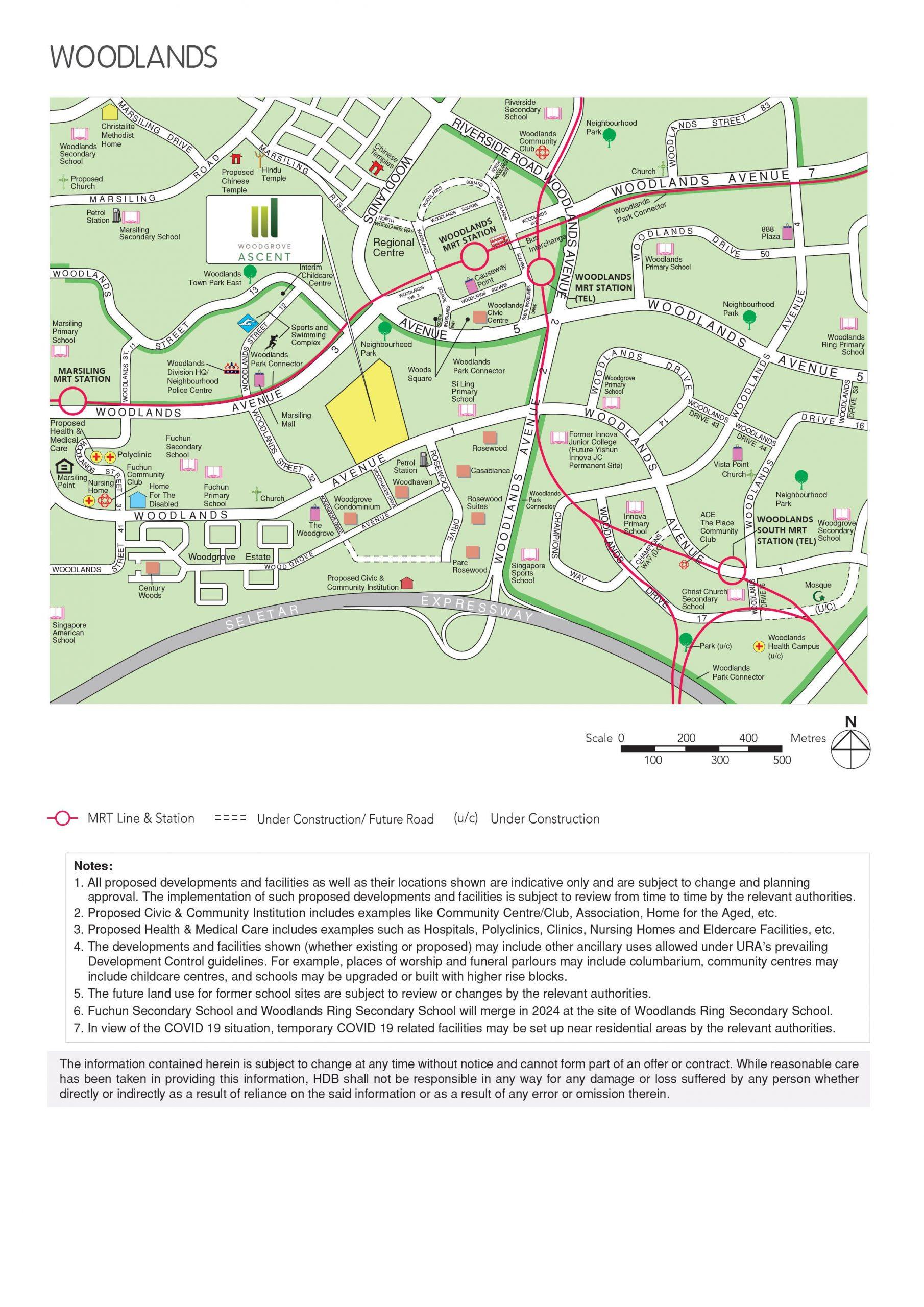 May 2021 Woodlands BTO full map
