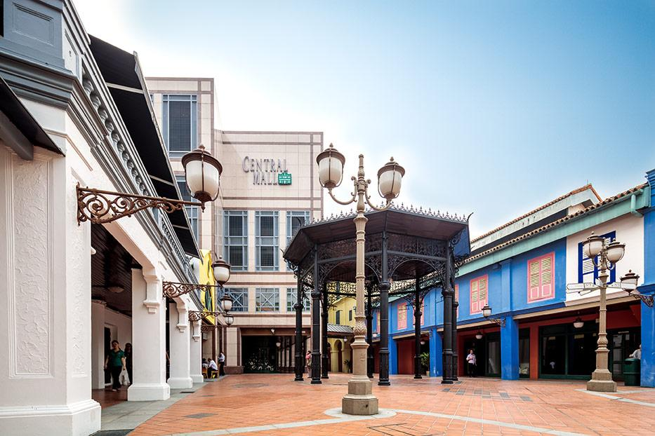 clarke quay central mall cdl redevelop mixed-use office apartment retail