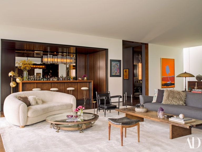 Jennifer Aniston's living room