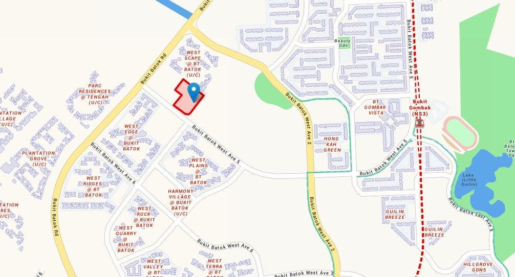 Bukit Batok West Avenue 8 site