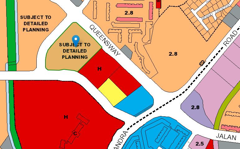 URA master plan of Queenstown