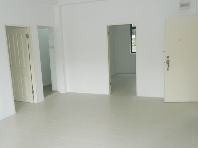Living room of flat under Parenthood Provisional Housing Scheme