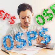 0$P$ man under stress to pay debt