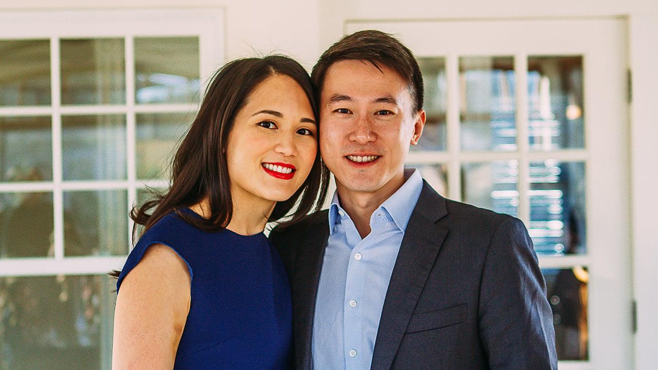 TikTok CEO Chew Shou Zi and wife